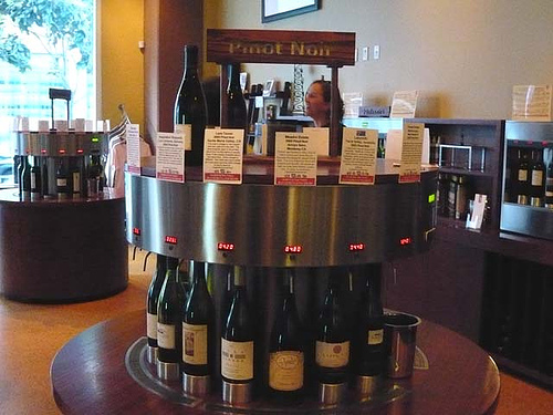 Vino Venue wine tasting station