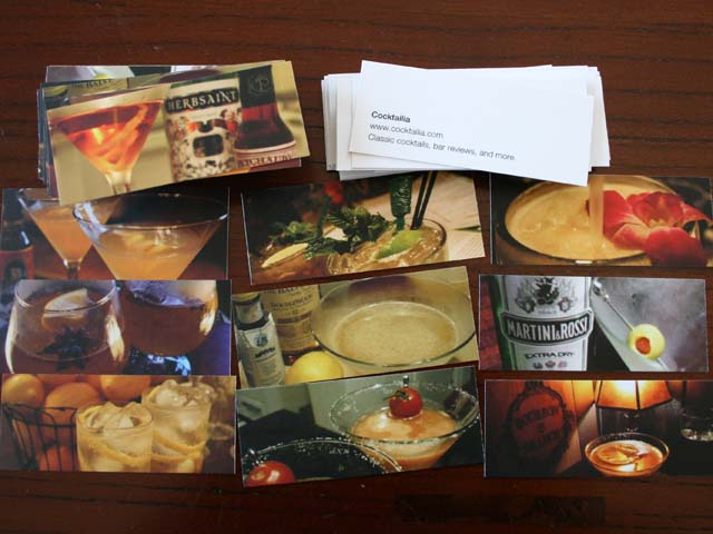 Cocktailia Cards
