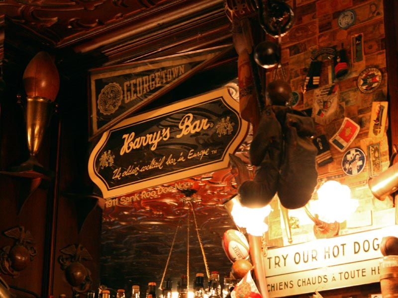 Harry's New York Bar, Paris, France