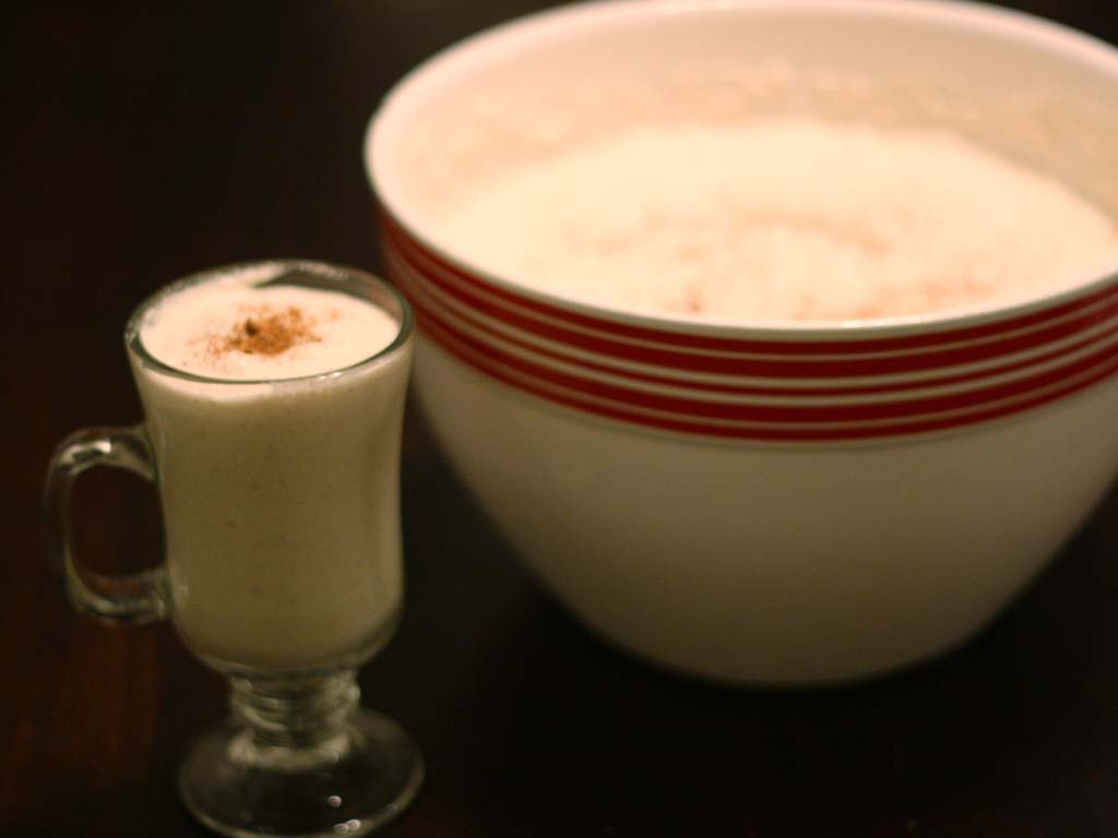 Easy holiday eggnog