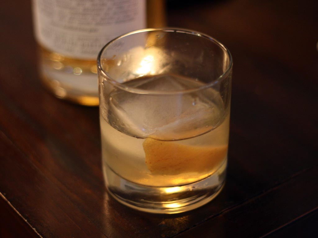 Aquavit Old Fashioned