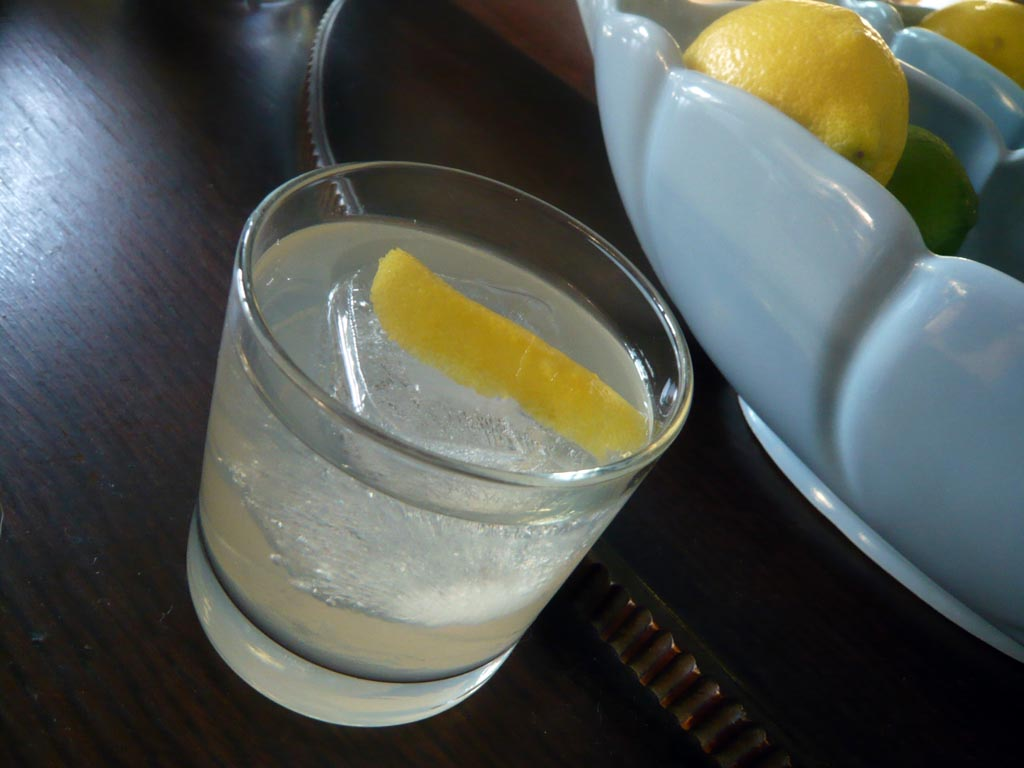 Aquavit and Lemon Tonic