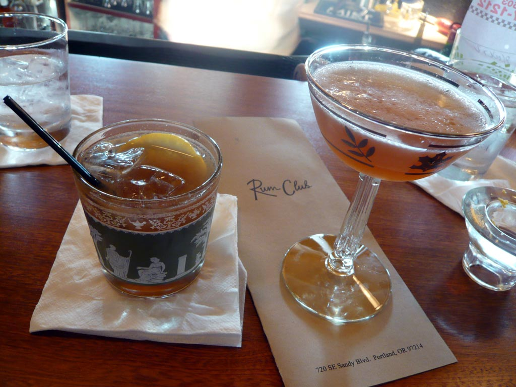 Rum Club, Portland, Oregon